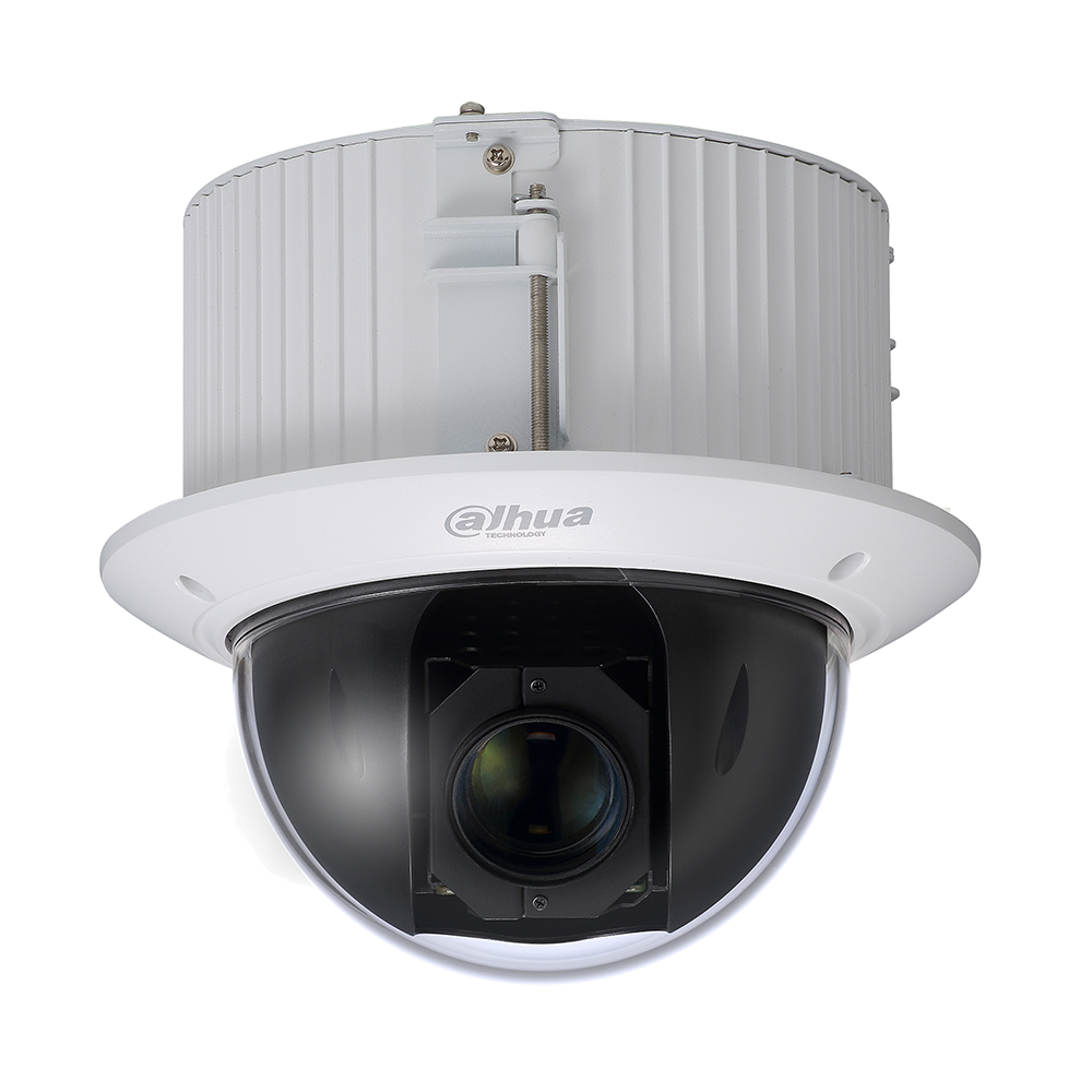 Dahua CCTV PTZ CMOS camera 25x optical zoom 2MP focal lens 4.8mm~120mm 2MP H.265 PoE+ IP66 Auto-tracking IK10