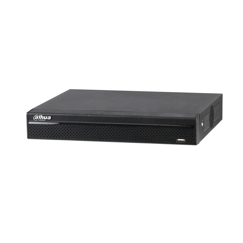 Dahua Security 8 Channel Tribrid 1080P Lite Compact 1U Digital Video Recorder HDCVI Analog IP Hybrid DVR