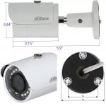 IPC-HFW1320S-S3 Dahua Outdoor 3MP 3.6MM HD Network Mini Bullet IP Camera