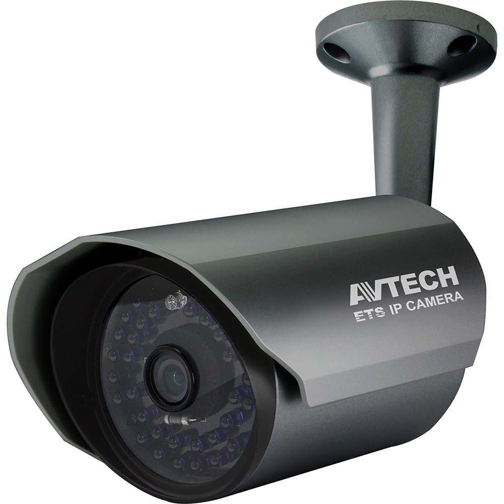 Avtech 2MP Bullet Outdoor IP Network Surveillance Camera 1080P 3.8mm Lens IR Array POE