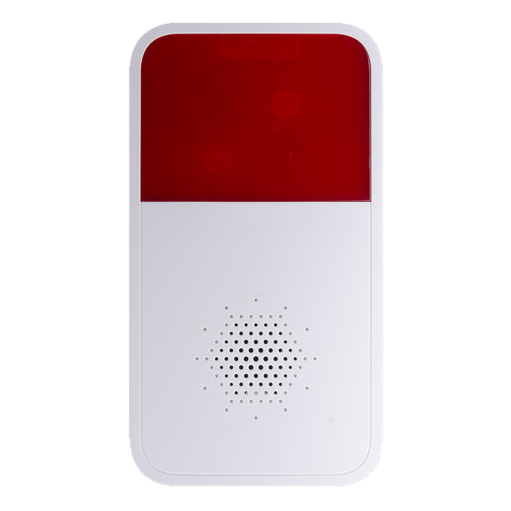 Dahua Wireless Siren ABS Material 433MHz 85dB Bi-Directional Communication Wireless Outdoor Alarm Siren Alarm system