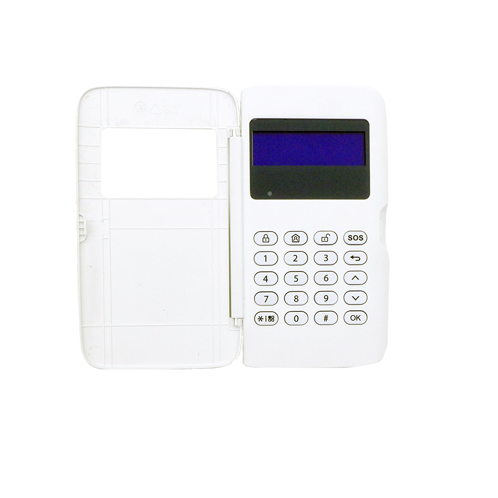 Dahua Security Wireless Alarm Keypad Up to 700m transmission distance ABS plastic