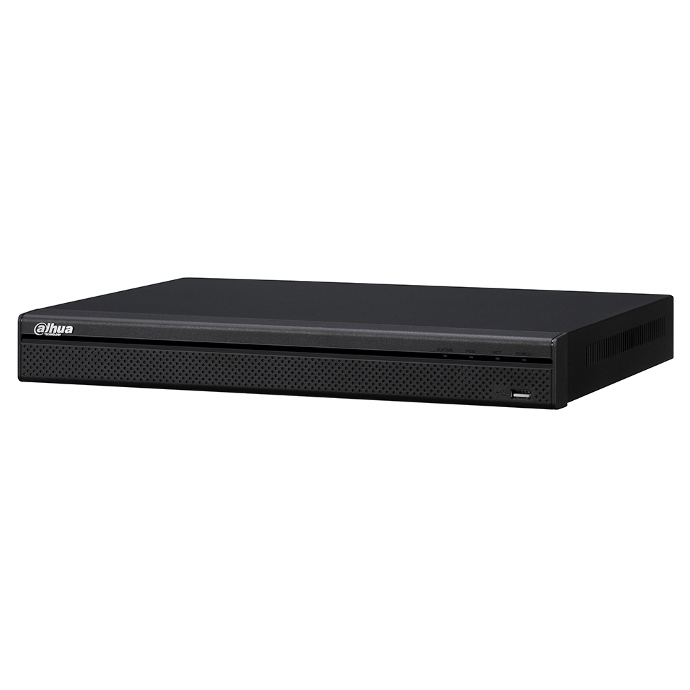 Dahua 32 Channel H.265 1080P 1U 4K NVR Support 2 SATA III Port Up to 6 TB capacity for each HDD 2 USB