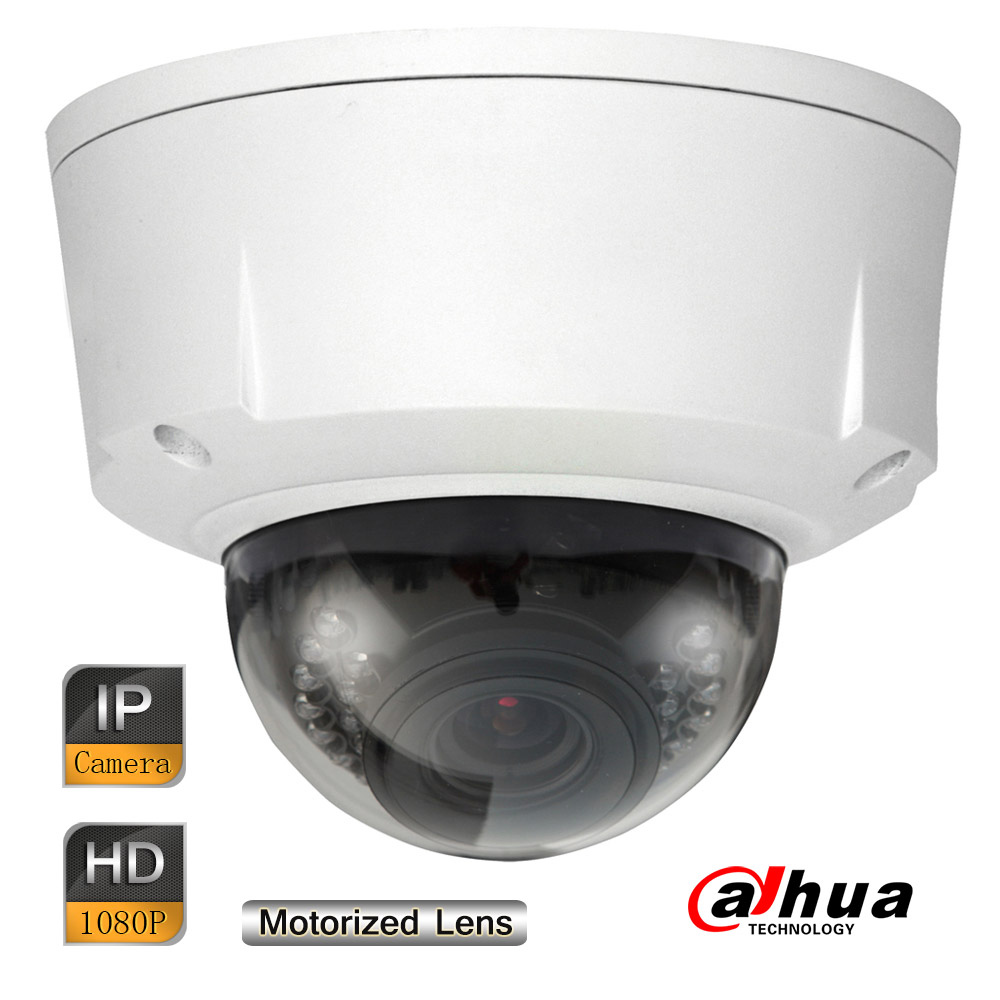 Dahua 2MP Starlight Vandalproof Ultra-smart Network IR Dome Camera Motorized Lens