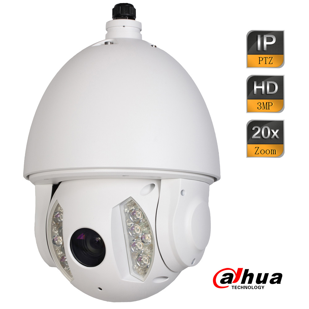 Dahua 3Mp 15fps Full HD 20x Zoom Network IR PTZ Dome Camera Micro SD Card Memory