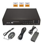 EFOSE CCTV 8CH H.264 Full 960H Realtime Record P2P Security Standalone DVR HDMI