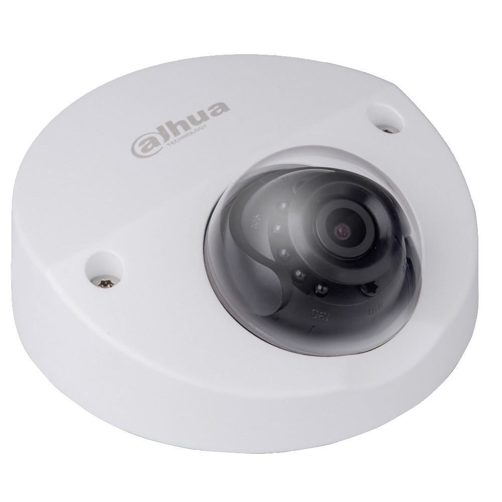 Dahua 2MP 3.6MM Full HD Network  Vandal-proof IR Wedge IP Dome Camera POE