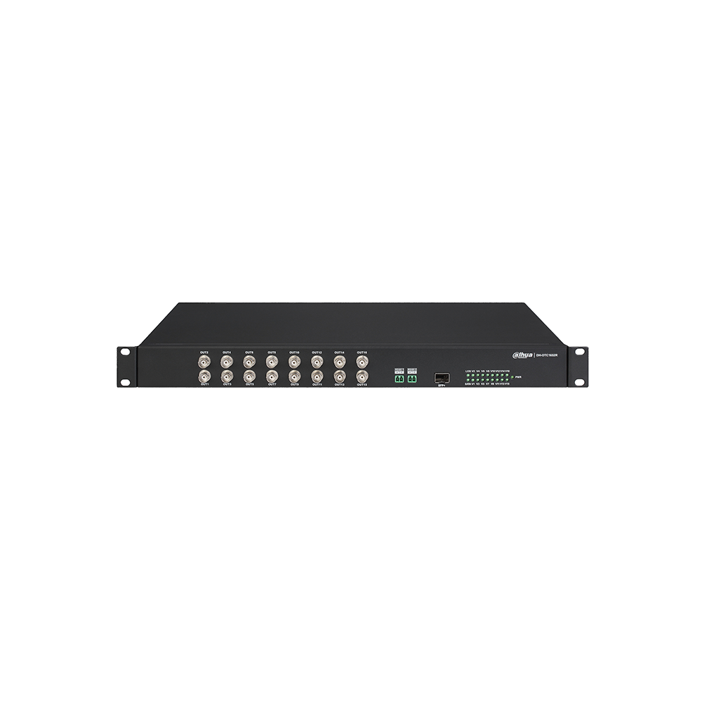 Dahua 16ch HDCVI Optical Transceiver (Lite)