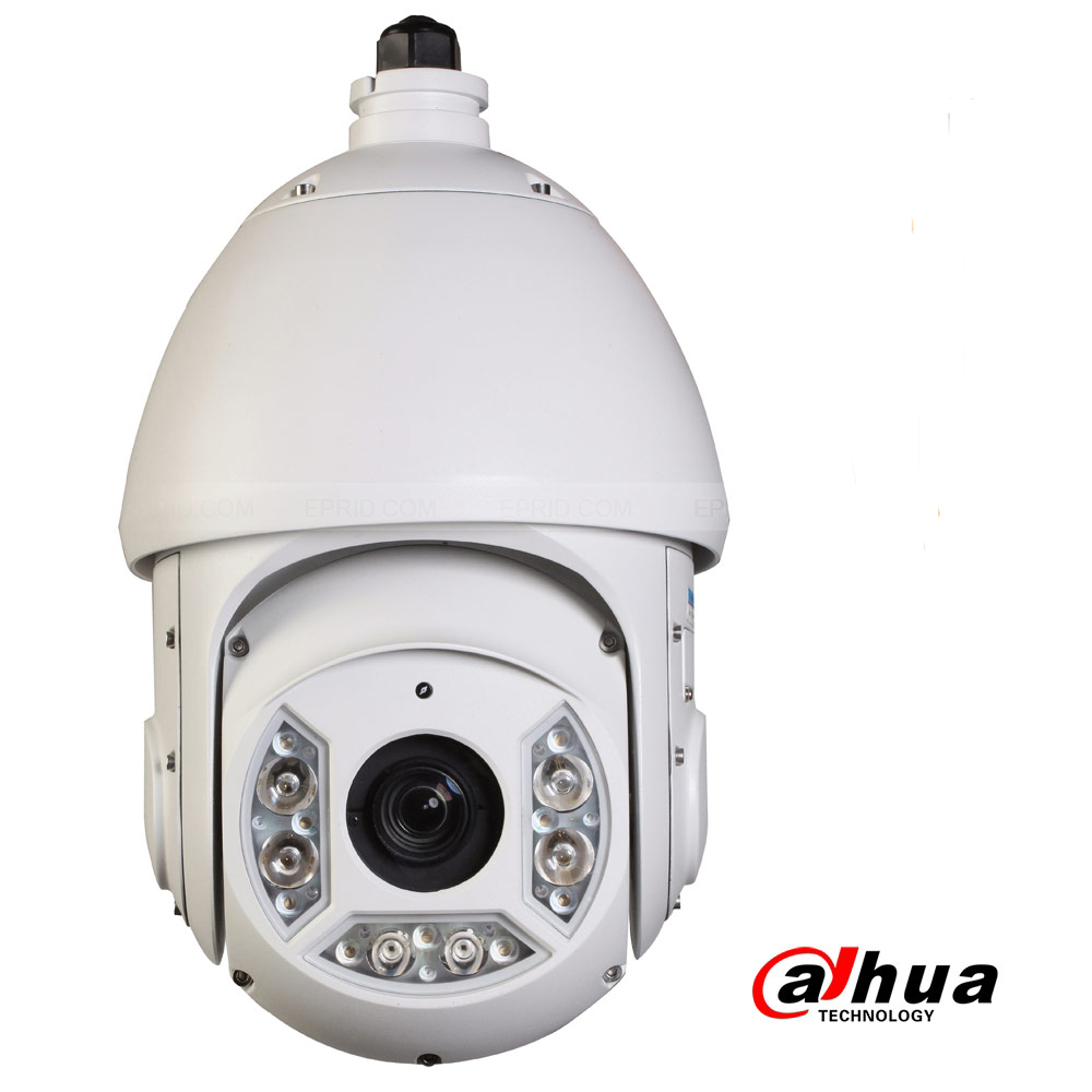 Dahua 2Megapixel Full HD 4.5mm~135mm 30x Network  IR PTZ Dome Camera