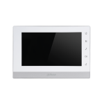 Dahua 7-inch 800X480 Resolution English Touch Screen Color Indoor Monitor