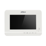 Dahua Video Intercom 7 TFT LCD screen Analog Indoor Monitor Color video audio intercom
