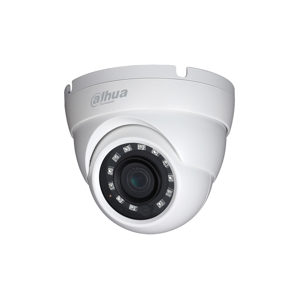 HAC-HDW1400R Dahua CCTV Camera 3.6MM LENS 4MP HDCVI IR Eyeball Camera