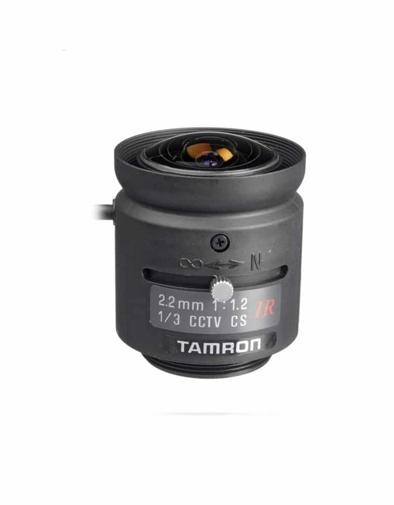 Tamron Compact CS-Mount CCTV Camera Lens with Auto Iris DC Focus Lock