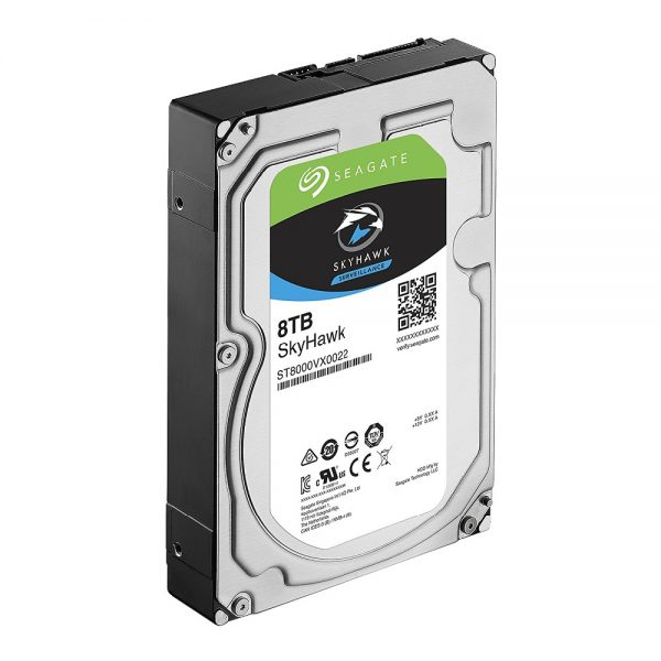 Seagate ST8000VX0022 8TB Video Surveillance HDD Internal Hard Disk Drive 7200 RPM SATA 6Gb/s 3.5 inch 256MB Cache HDD Hard Disk